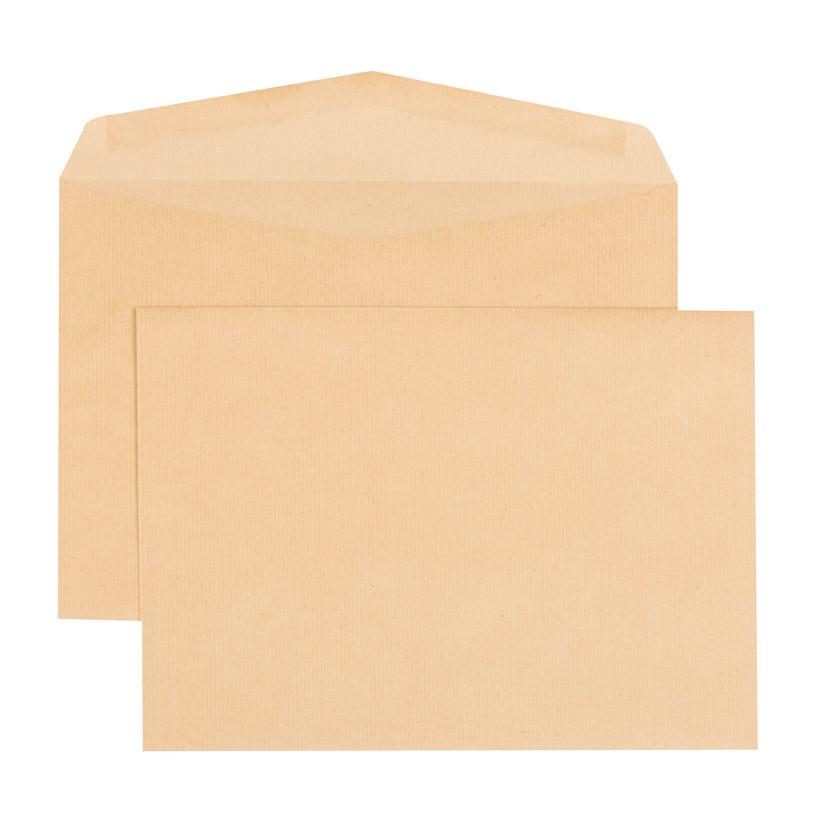 Boîte de 250 enveloppes kraft brun 26 280x375 90 g/m² gommées