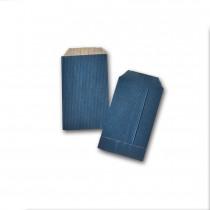 Boite de 250 pochettes cadeau bleues 70x120 60 g/m²