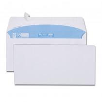 Boîte de 500 enveloppes blanches DL 110x220 90 g/m² bande de protection