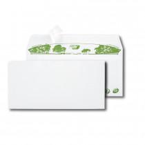 Boite de 500 enveloppes extra blanches 100% recyclées DL 110x220 80 g/m² bande de protection