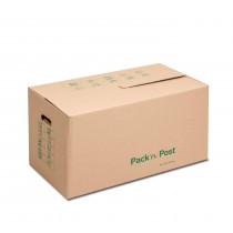 Lot de 10 cartons de déménagement 637x340x360