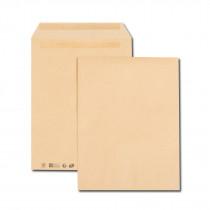 Boîte de 250 pochettes kraft brun 26 280x375 120 g/m² autocollantes