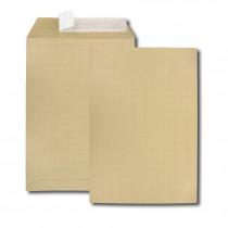 Paquet de 10 pochettes kraft armé brun C4 229x324 130 g/m² bande de protection