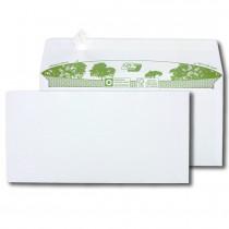 Boite de 500 enveloppes extra blanches 100% recyclées DL 110x220 90 g/m² bande de protection