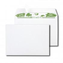 Boite de 500 enveloppes extra blanches 100% recyclées C5 162x229 90 g/m² bande de protection