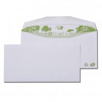 Boite de 1000 enveloppes patte trapèze blanches|C6/C5 115x229 80 g/m² gommées