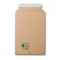 Paquets de 5 pochettes carton à soufflets 229x310