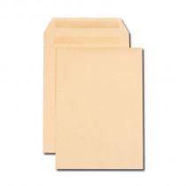 Boîte de 250 pochettes kraft brun E4 280x400 120 g/m² autocollantes