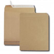 Boite de 250 sacs à soufflets kraft brun E4 280x400 120 g/m² bande de protection
