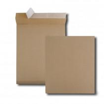 Boite de 250 sacs à soufflets kraft armé brun 340x465 130 g/m² bande de protection