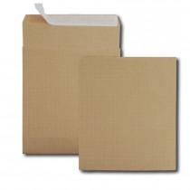 Boite de 250 sacs à soufflets kraft armé brun 26 280x375 130 g/m² bande de protection
