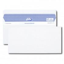 Boîte de 100 enveloppes blanches DL+ 112x225 90 g/m² Secure®