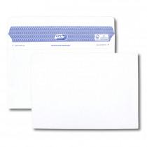 Boîte de 100 enveloppes blanches C5 162x229 90 g/m² Secure®