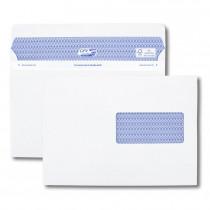 Boîte de 500 enveloppes blanches C5 162x229 90 g/m² fenêtre 45x100 Secure®
