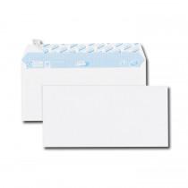 Paquet de 50 enveloppes blanches DL 110x220 75 g/m² bande de protection
