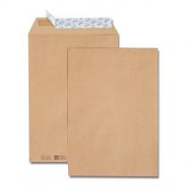 Paquet de 50 pochettes kraft brun + 10 pochettes C4 229x324 85 g/m²|gratuites bande de protection||