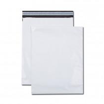 Paquet de 100 pochettes polyéthylène 310x410 bande de protection