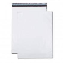 Paquet de 100 pochettes polyéthylène 360x485 bande de protection