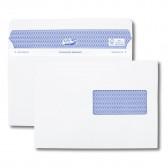 Boîte de 100 enveloppes blanches C5 162x229 90 g/m² fenêtre 45x100 Secure®