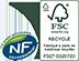 NF FSC recyclé crédit
