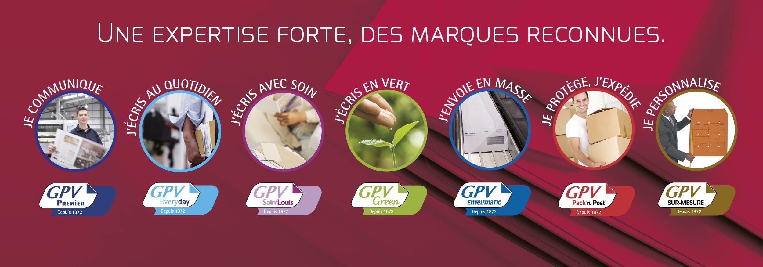 Les marques GPV